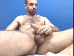 Hung Brazilian Daddy Cumming a Lot