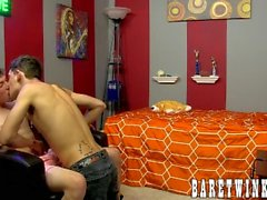 Gay perv Andy Kay starring in homemade breeding flick