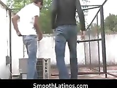 Hot gay Latinos having gay porn