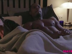 Colby and Max interracial anal threesome with Zaddy