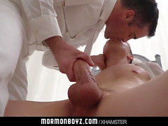 MormonBoyz - Naive fellow masturbated and wanked by older priest