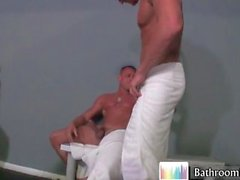 Gavin Waters in hot bathroom fucking part4