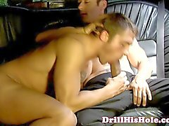 Greedy stud top giving blowjob