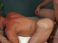 Michael Lucas Fucks Hans Berlin's Muscle Ass