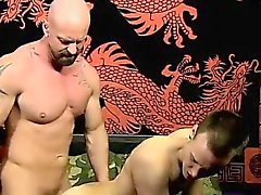Amazing twinks Chris gets the jism banged out of him while h