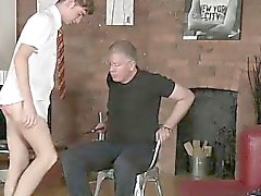 Male models Spanking The Schoolboy Jacob