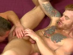 Muscle Hunk Daddy Fucks His Friend & Rims His Ass 4 A Change