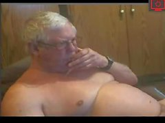grandpa excites his dick