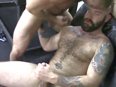 Luke Harrington porks beefy bubble ass Shay Michaels