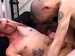 Twink mohawk fucks hard anal from behind