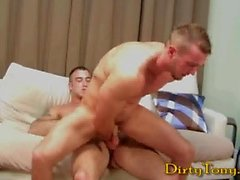 Gorgeous Muscle Hunks Sex: Spencer Reed & Devin Draz