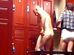 [Lockerroomshowers] Moustached Daddy's Cock and Balls