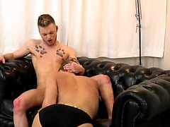 Both Kris and Koby are greedy bottoms who love to get