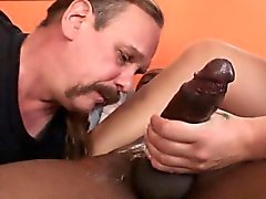 Cum eating cuckold