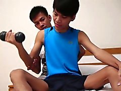 Asian Twinks Kylie and John
