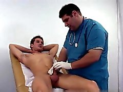 Nude men Once I was fully stiff Dr. Dick took off his gloves