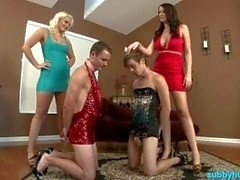 Two Mistresses Make Slaves Bi