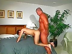 Muscle dad fucks stud