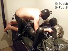 Gimp/slave being used part 1