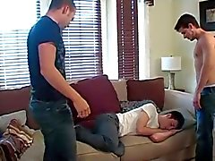 AJ, Damon & Jesse have fun on the couch.mp4