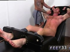 Interracial gay feet Connor Maguire Jerked & Tickle d