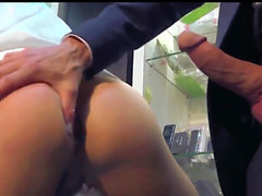 Gentleman's sex transaction at a convenience store