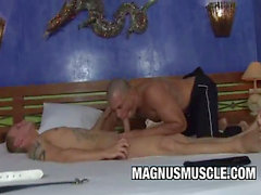 Muscle Latin Dude Fucked